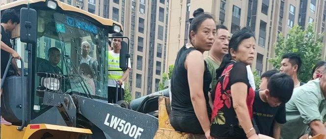 """徐工履带起重机以""""迅""""应""""汛""""!徐工驰援河南!"""